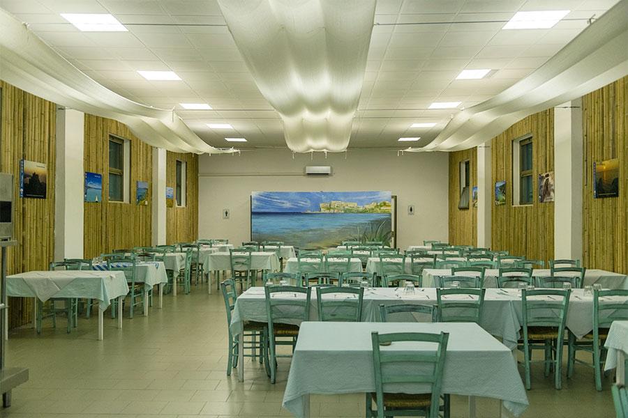 Il ristorante a Pianosa